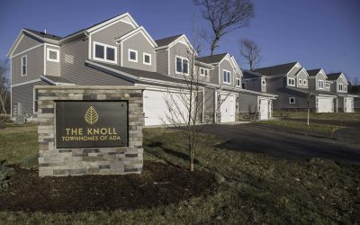 $15M luxury townhome development in Ada completed